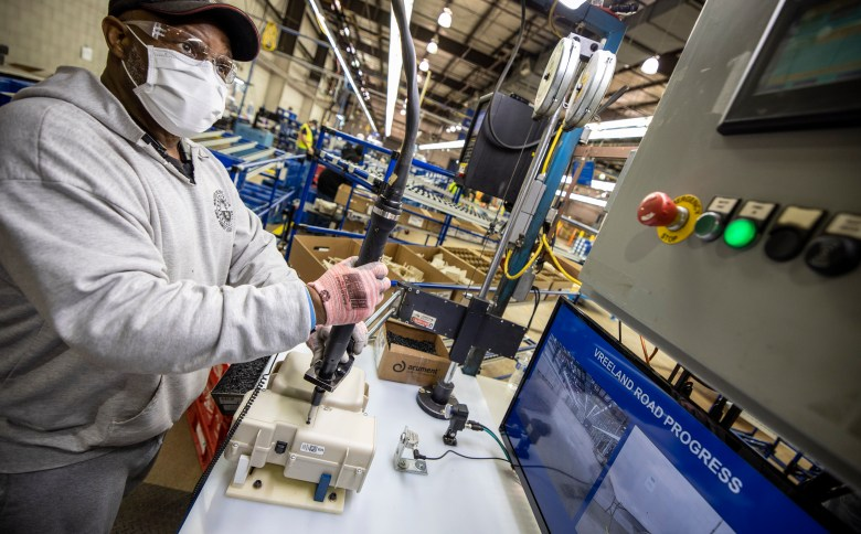 ford motor company ppe assembly line