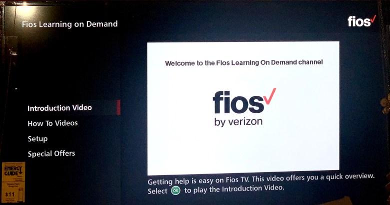 Verizon Fios Channel 131 Set Up