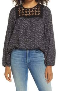 Nordstrom Anniversary Sale Best of What's Left Under $100 #NSale Caslon Crochet top
