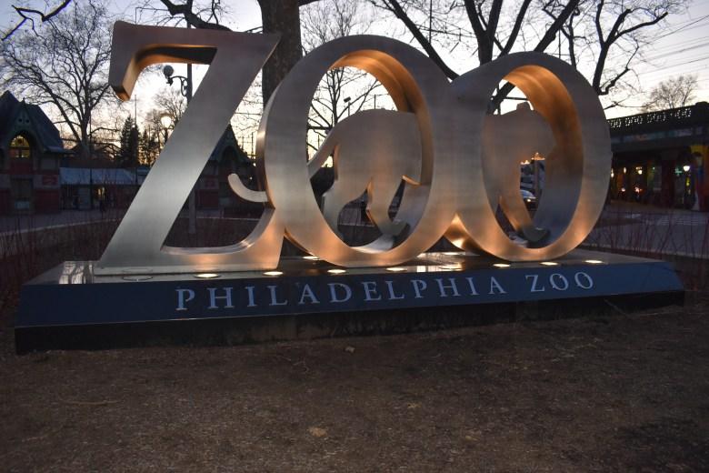Things to do in Philadelphia. Philadelphia Zoo Sign