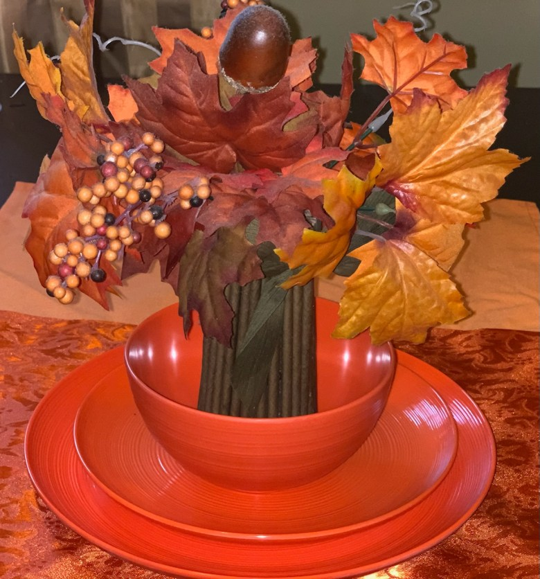 thanksgiving table setting for easy family fun