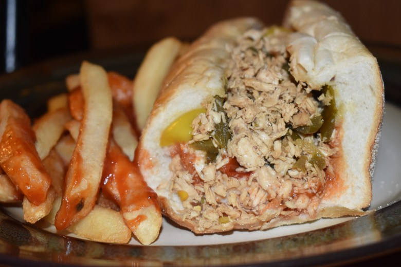 Philly cheesesteak Family fun guide or chicken cheesesteak
