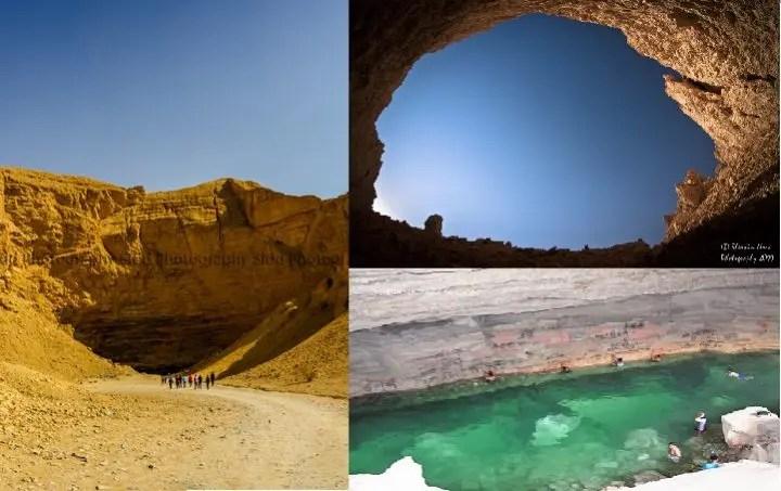 A Visit to the Al Heet cave in AlKharj Riyadh Saudi