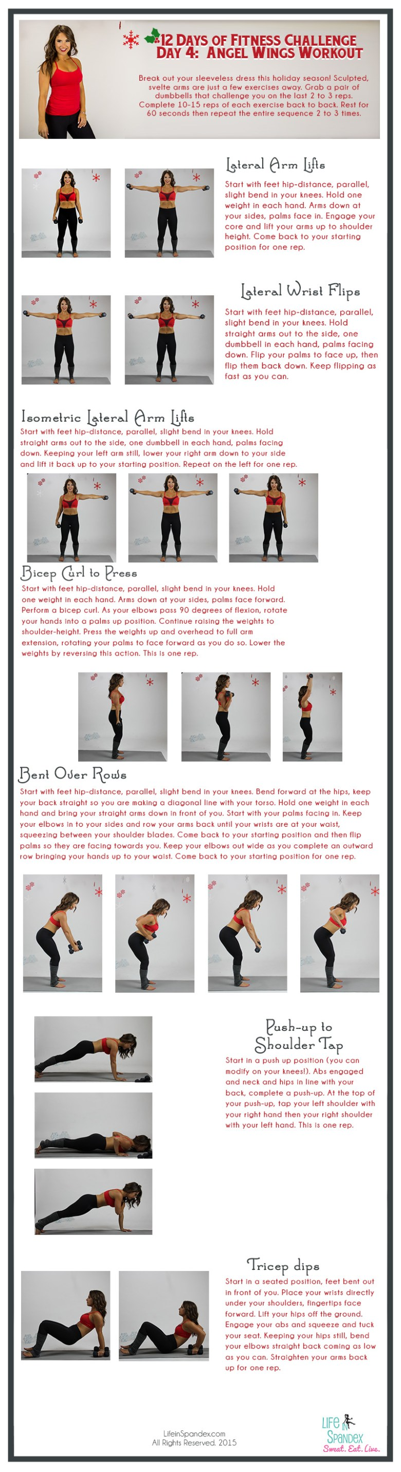 Day 4 Angel Wings Arm Workout