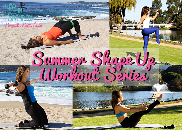 Life in Spandex Summer Shape Up Workout Series
