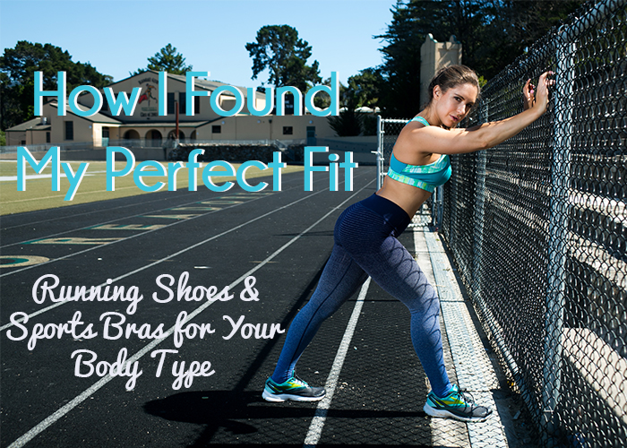 Running Shoes & Sports Bras for Your Body Type