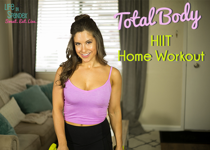 Total Body Home HIIT Workout