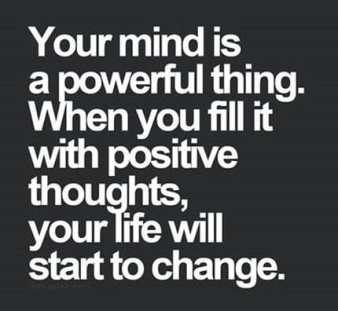 Change the Way you Think in life