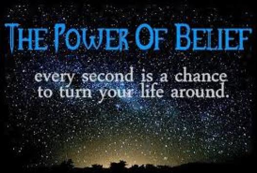 developing the power to believe.