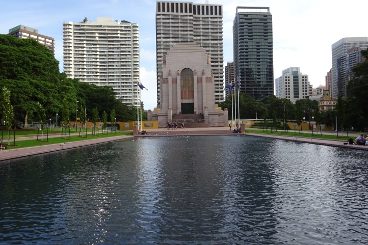 The memorial is rather beutiful