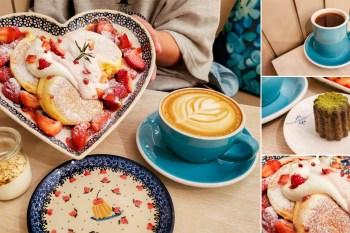 【臺南美食】中世紀法國經典甜點|法式糕點可麗露每日限定口味|季節限定草莓口味熱鬆餅|舒芙蕾單點加80元升級套餐|下午限定時間開賣~~Autumn舒芙蕾熱·鬆餅