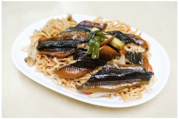 【台南中西區-美食】沙卡里巴鱔魚廖 27秒快炒鱔魚 ~ 老牌鱔魚意麵(已歇業)