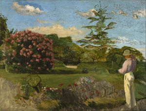 Frédéric_Bazille_-_The_Little_Gardener_-_Google_Art_Project
