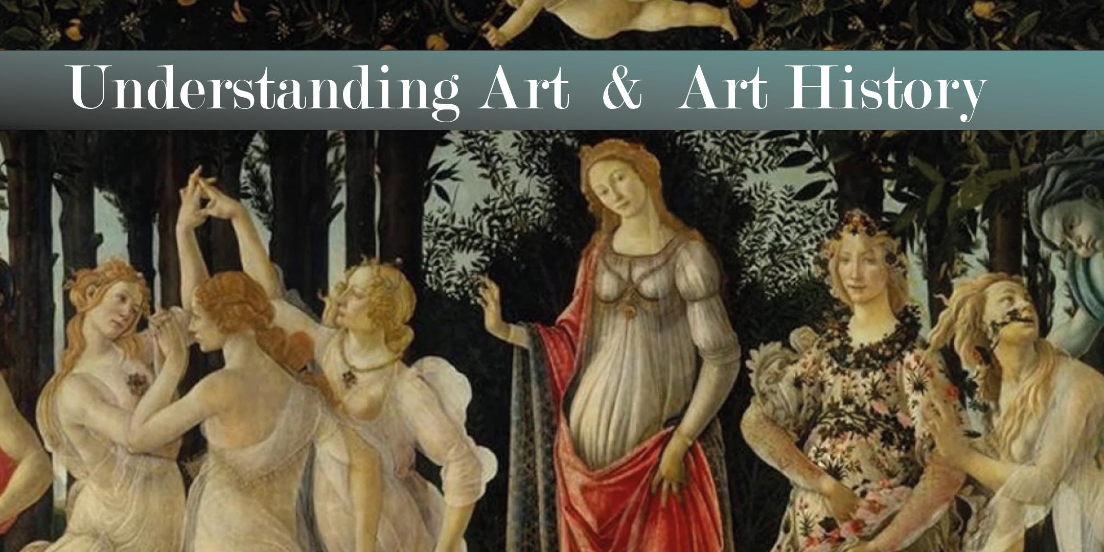 Understanding Art & Art History (7x sessions)
