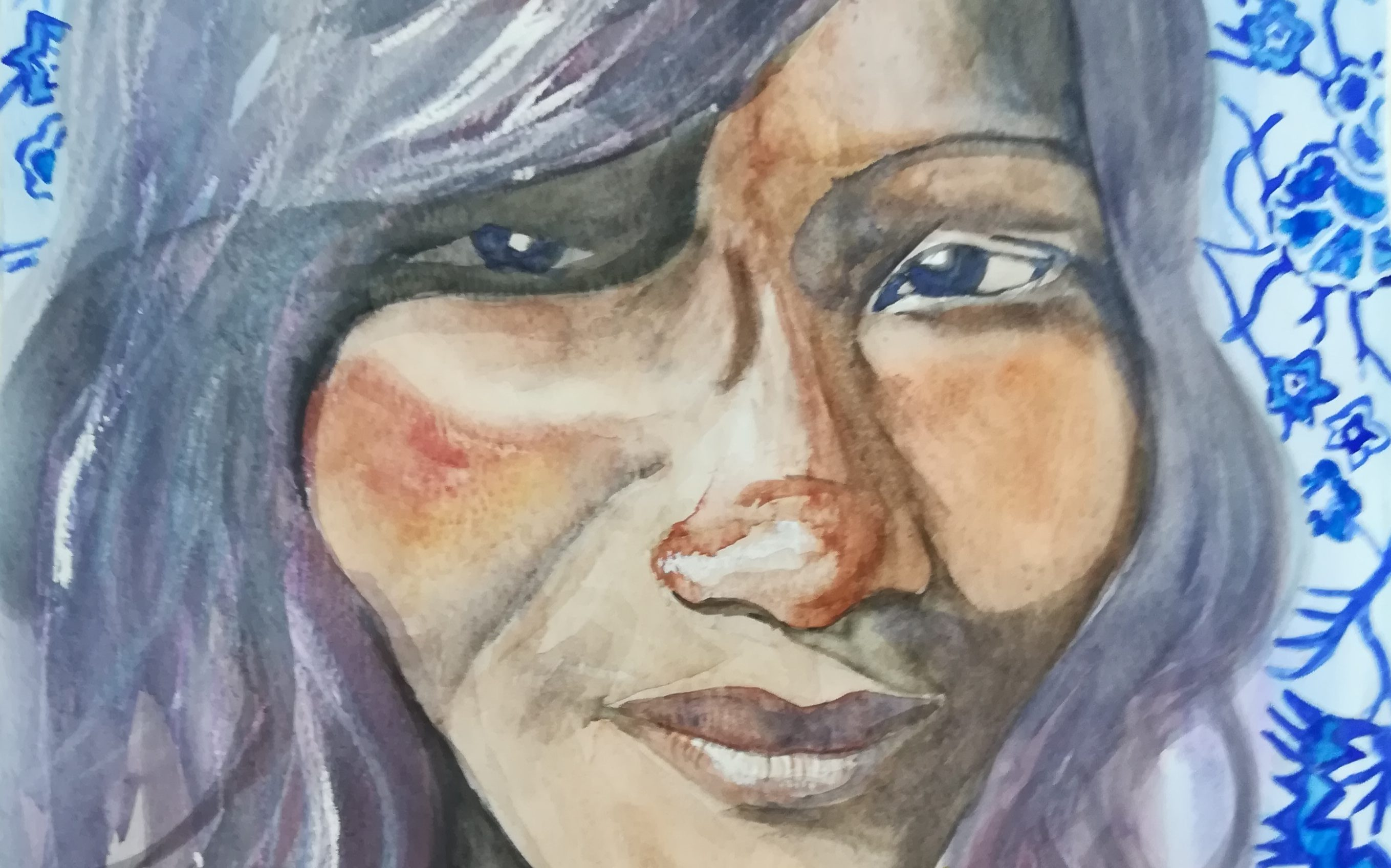 Watercolour Portraits - With a Model