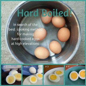 Four cooking methods for hard-cooked eggs