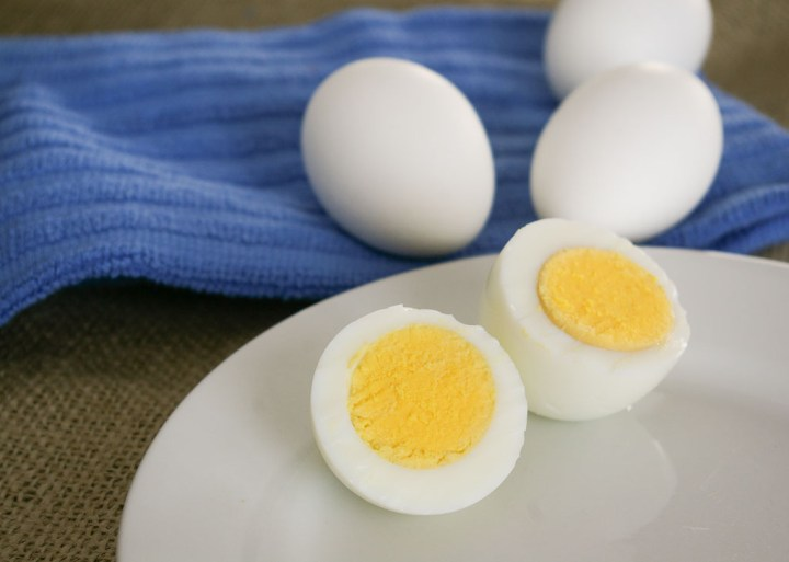 the perfect hard-cooked egg