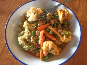 Vegetable Thai Curry in a Hurry