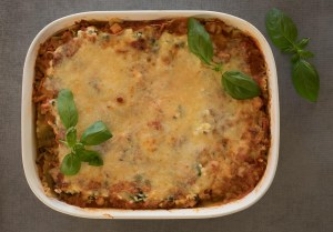 Healthy Chicken Lasagna for a crowd