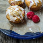 Fresh Raspberry Lemon Muffins