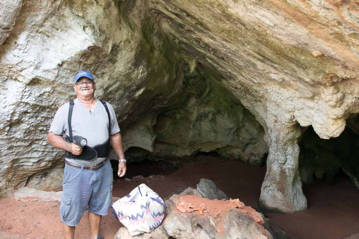 Leonard Cartright, our cave guide