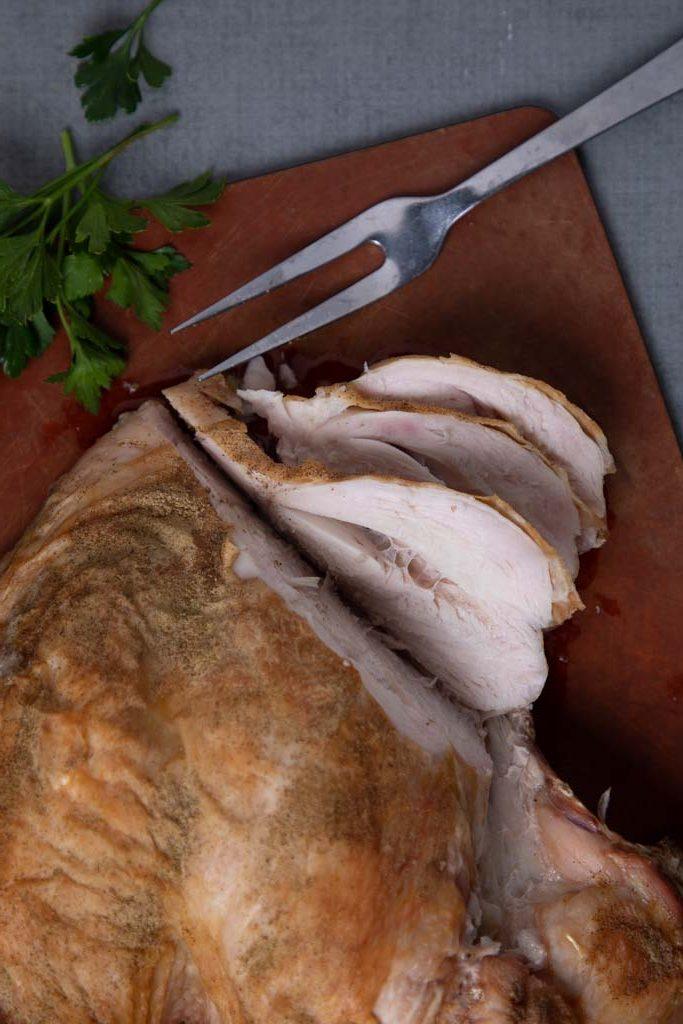 Sliced Peppery Turkey Brease
