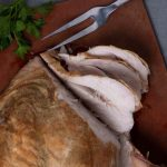 Sliced Peppery Turkey Brease