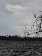 stormy day Lake Neatahwanta