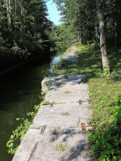 Oswego Canal lock #2 Great Bear2