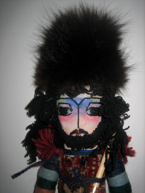 Armenian carpet doll