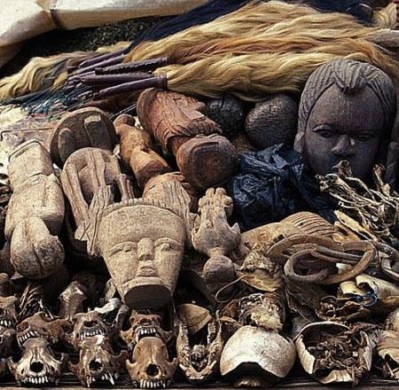 Fetish market Africa