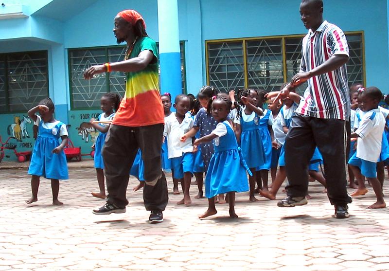 Ghana Dancing Lessons