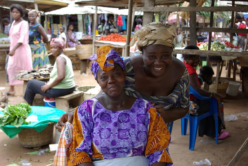 Ghana market women