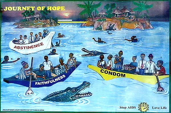 Ghana AIDS poster