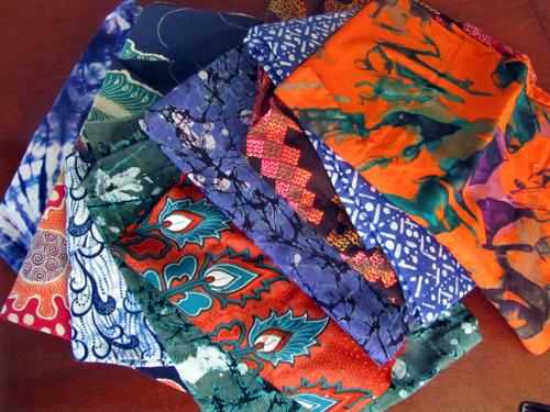 Ghanaian fabric
