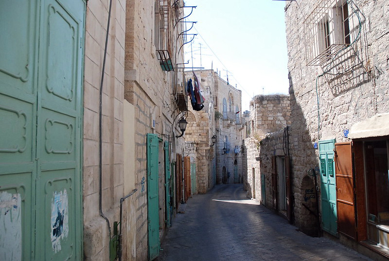 Narrow street in Bethlehem