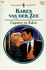 Captive in Eden by Karen van der Zee
