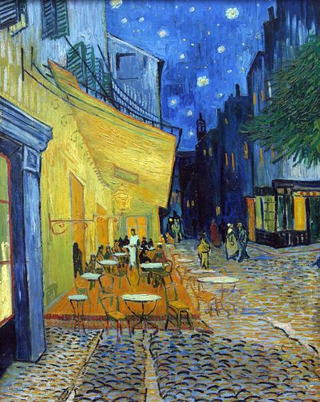 Van Gogh, Arles Cafe