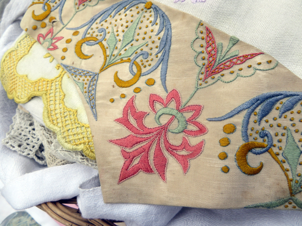 Antique embroidery