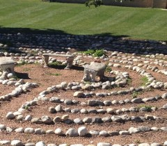 Labyrinth at Mount Mary