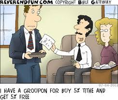 groupon tithe