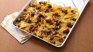 Camping Meals for Dinner and Dessert at LifeInTheNerddom.com - Grilled Picnic Taco Nachos Courtesy of Life Made Delicious