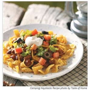Camping Haystacks from Taste of Home