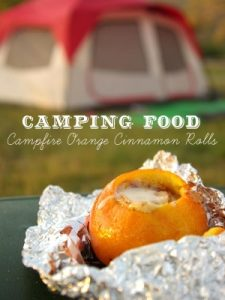 Campfire Orange Cinnamon Rolls from Oleander + Palm