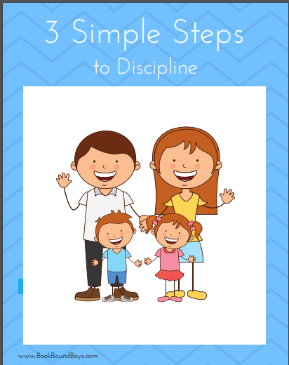 3 Simple Steps to Discipline in Your Homeschool at LifeInTheNerddom.com