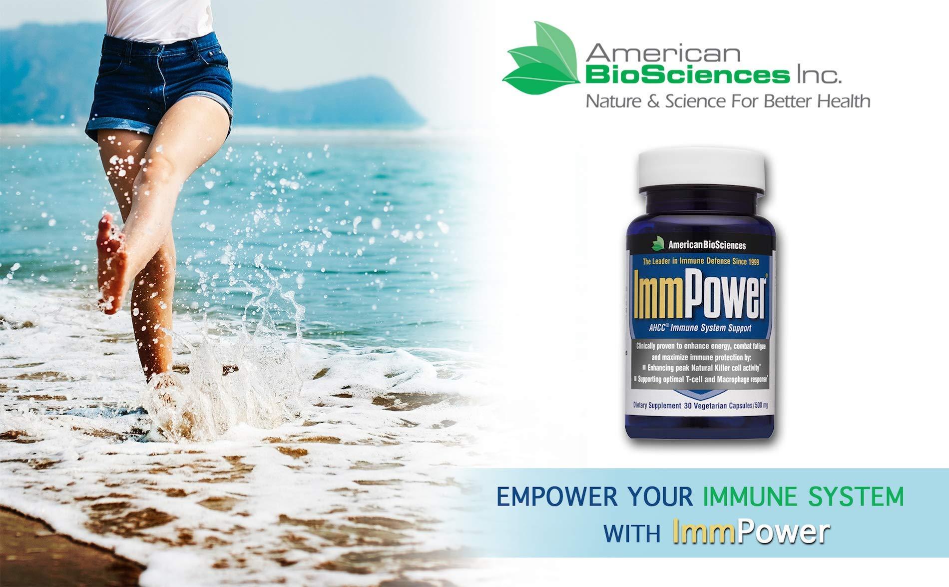 American BioSciences ImmPower AHCC Supplement Enhanced ...