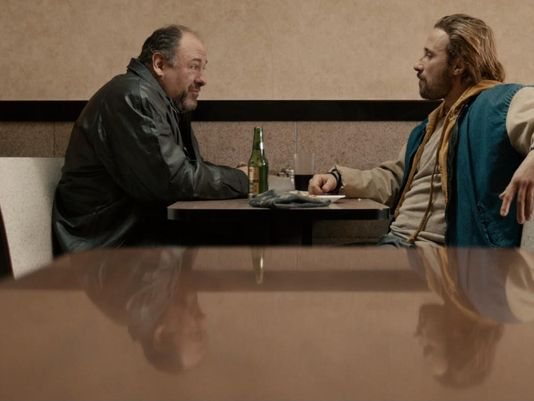 James Gandolfini, Matthias Schoenaerts - who's threatening whom