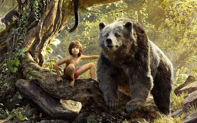 Neel Sethi, Baloo -  bear necessities