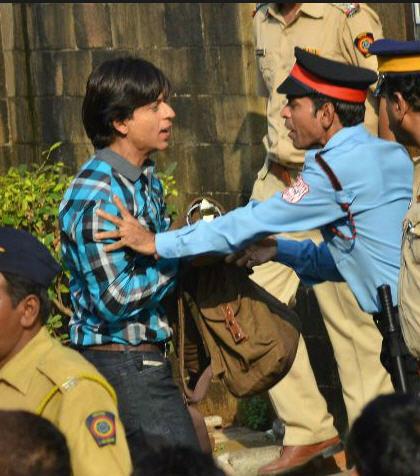 Shah Rukh Khan - idol meet