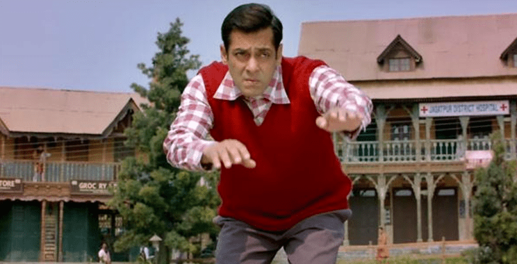 Salman Khan - straining to move mountains and the audience